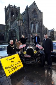 Monte Carlo Rally Paisley launch