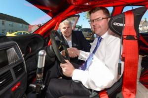 Cllr Colin Smyth and CoC, Graham Bisset