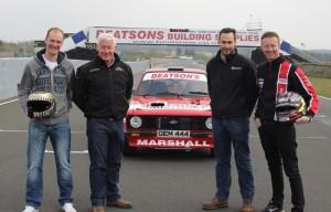 Stuart Louden, John Marshall, Ross Marshall and Gordon Shedden