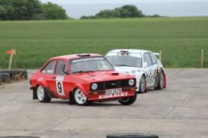 Motor racing at Crail!